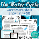 Water Cycle Reading Comprehension Bundle