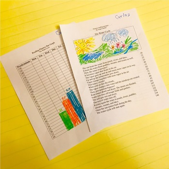 Water Cycle Reading Fluency Passage