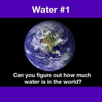 Water Cycle,Resources NGSS:Water on Earth ❤ BUNDLE:Activit