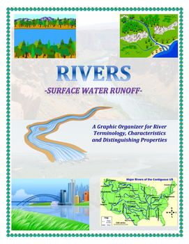 Water Cycle: River Ages and Characteristics Organizer (Par