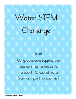Water Cycle STEM