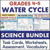 Water Cycle Activities BUNDLE Grade 4 5 Science