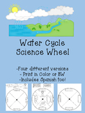 Water Cycle Science Wheel