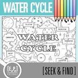 Water Cycle Seek & Find Doodle Page