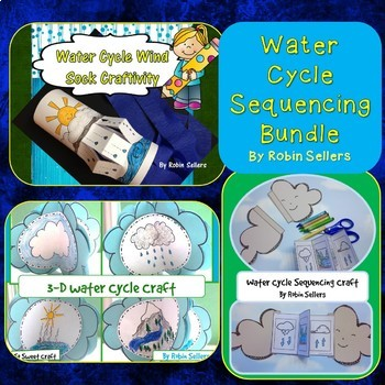 Water Cycle Sequencing Craft Bundle