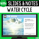 Water Cycle Slides & Notes 4th Grade