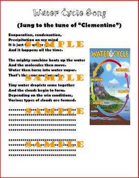 Water Cycle Songs