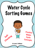 Water Cycle Sorting Activities