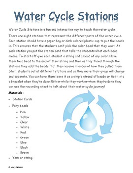 Water Cycle Stations