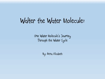 Water Cycle Story Book