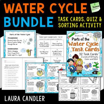 Water Cycle Task Cards Bundle