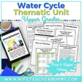 Water Cycle Unit, Posters, Project- Water Cycle Activities