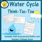 Water Cycle Choice Board Assessment