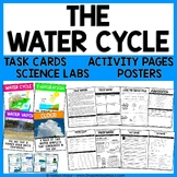 Water Cycle Science Unit - Reading Passages, Activities, and Task Cards!