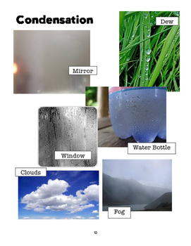 Water Cycle Unit (Assessment Not Included)