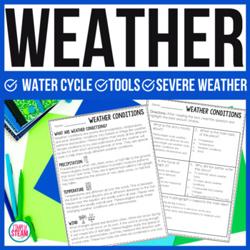 Weather Unit │ Water Cycle │ Weather Tools