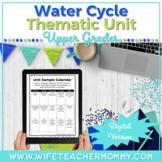 Water Cycle Unit Activities- GOOGLE SLIDES Digital Distanc