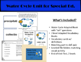 Water Cycle Unit for Special Ed.