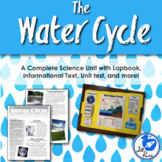 Water Cycle Unit with Lapbook and Informational Text