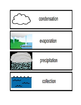 Water Cycle Visuals