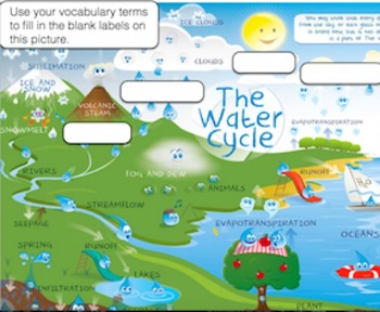 Water-Cycle Vocabulary | 5th Science