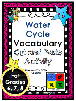 Water Cycle Vocabulary Activity