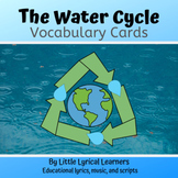 Water Cycle Vocabulary Cards; Life Cycle of a Snowflake
