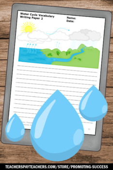 Water Cycle Activities, Wea... by Promoting Success | Teachers Pay ...