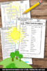 Water Cycle Crossword Puzzle No Prep Science Weather Unit