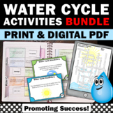 Water Cycle Activities BUNDLE 6th Grade Science Curriculum
