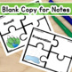 Water Cycle Vocabulary Puzzles