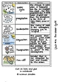 FREE Interactive Notebook Water Cycle Vocabulary Set