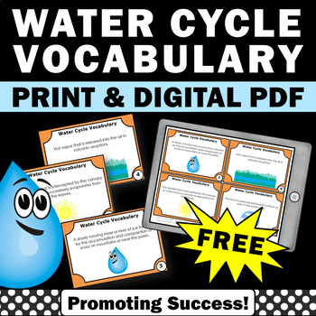 FREE Water Cycle Activities... by Promoting Success | Teachers Pay ...