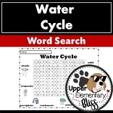 Water Cycle  Wordsearch