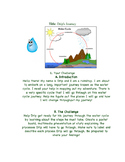 Water Cycle Webquest: Drip's Journey!