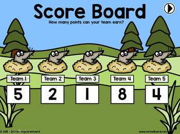 Water Cycle Review Game: Whack-a-Mole