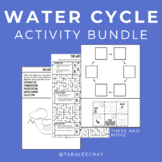 Water Cycle Activity Bundle • Science Worksheets