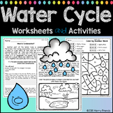 Water Cycle Worksheets and Activities - 15 Worksheets and