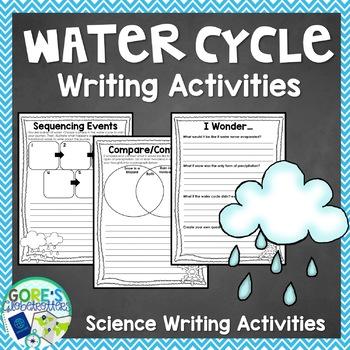 Water Cycle Writing