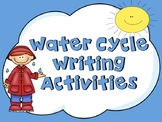 Water Cycle Writing Activities