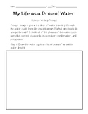 Water Cycle Writing Prompt