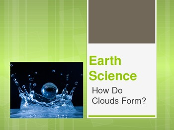 Water Cycle and Clouds PowerPoint Presentation