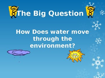 Water Cycle and Weather PPT Notes