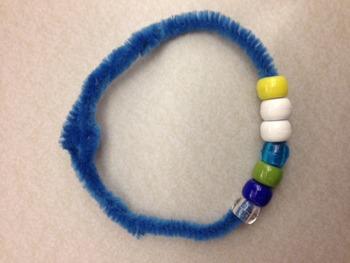 Water Cycle bracelet