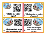Water Cycle (weather) QR code Task Cards
