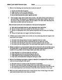 Water Cycles Earth Processes Quiz