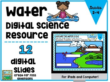 Water Digital Interactive Activities for Ipad and Google Drive