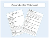 Water Distribution - Groundwater Webquest / Interactive We