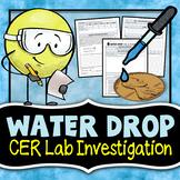 Water Drop Lab - CER Lab Investigation