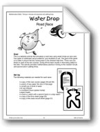 Water Drop Road Race (Math Games)